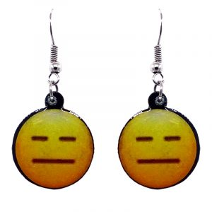 "This emoji is named ""Expressionless Face"", a face with flat, closed eyes and mouth."