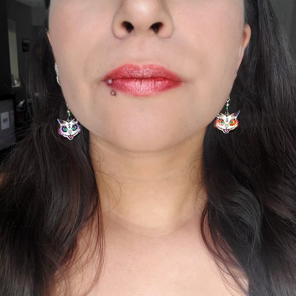 Mia Jewel Shop: Tabby Cat Earrings
