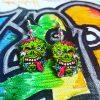 Mia Jewel Shop: Halloween Zombie Earrings