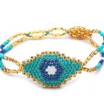 Gold/Turquoise/Blue